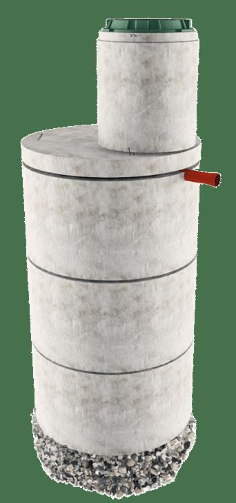Септик из бетонных колец в Лотошинском районе
